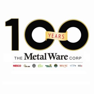 The Metal Ware Corporation Celebrates 100th Anniversary Logo